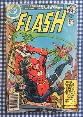 The Flash Vol 1 #268 Comic Book DC Dec 1978 Riddle Of The Runaway Comic Graphic