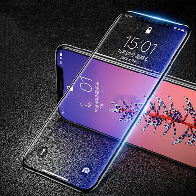 9H Curved Full Cover Tempered Glass Film Screen Protector for iPhone XS Max XR
