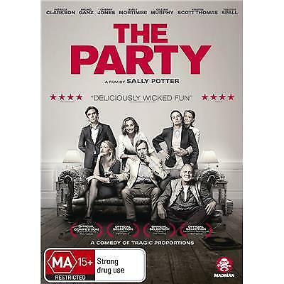 The Party Dvd, 2018 Release, New & Sealed, Region 4. Free Post