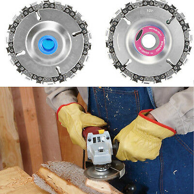 """22 Tooth 4"""" Cut Grinder Disc and Chain Wood Carving For 100/115 Angle Grinder XA"""
