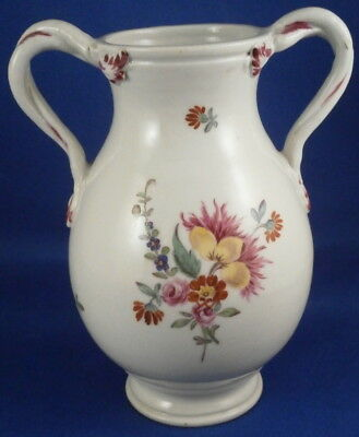 Antique 18thC Gardner Russian Porcelain Floral Vase Urn Porzellan Moscow Russia