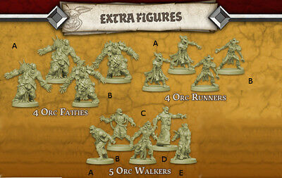 Zombicide Green Horde: Extra Minis *NEU*