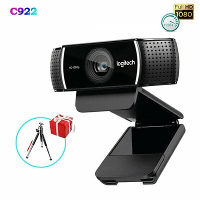 Logitech C922 PRO HD 1080P Web Camera Recorded Video for Windows/Mac/Android