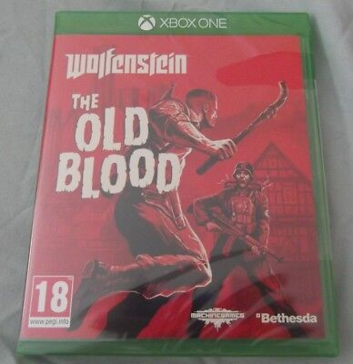 Wolfenstein The Old Blood (Xbox One) NEW Factory Sealed
