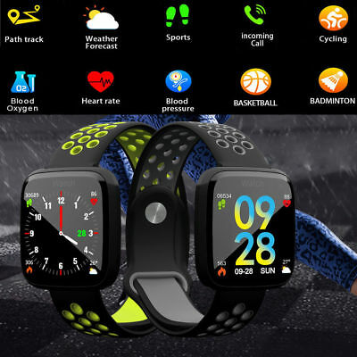 CARDIOFREQUENZIMETRO Blood TRACKER OROLOGIO SMARTWATCH SPORT BAND ANDROID iOS