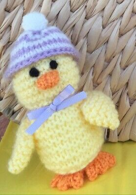 Hand Knitted Chick