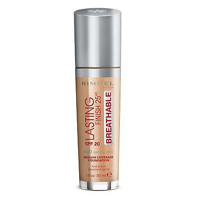 Rimmel London Lasting Finish 25Hr Breathable Foundation 30ml - 400 Natural Beige