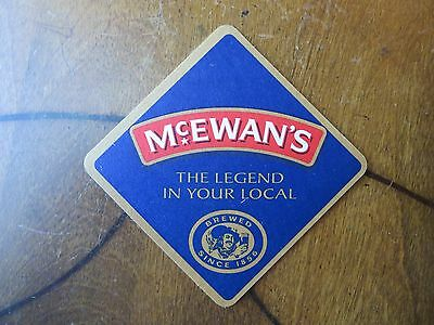 McEwan's Brewed Since 1856 Edinburgh Scotland Beer Coaster