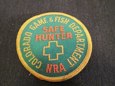 Colorado Game & Fish Department Safe Hunter NRA Patch