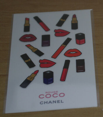 CHANEL PLANCHE STICKERS ROUGE COCO CHANEL BEAUTé