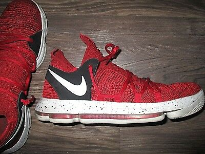321ccd90bb07 NIKE ZOOM KD 10 X Red Velvet Cupcake (Size 12) Kevin Durant 897815 ...