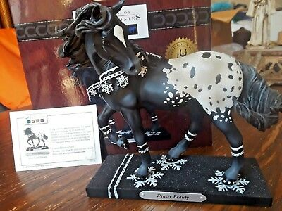 """Trail of the Painted Ponies """"Winter Beauty"""" Pony Figurine #6001108 L/E 5000"""