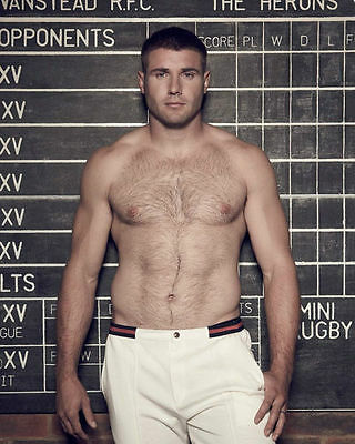 Ben Cohen Unsigned Photo #11 - Former England Rugby Union Player - Topless!!!