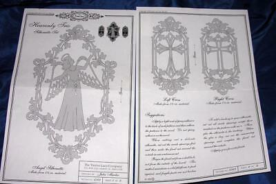 DIY WOODWORKING WOOD CRAFT PATTERNS Angels, Crosses Heavenly Trio TIMBER LACE