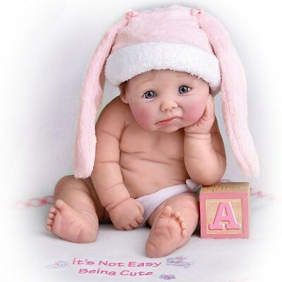 Ashton Drake - It's Not Easy Being Cute Baby Doll by Sherry Rawn