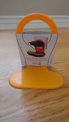 Kikkerland Drinn Phone Charging wall outlet Holder Orange made in Italy