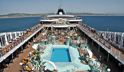 Full Board 11 Day Cruise for 2 to Lisbon Barcelona + hotel stay in Nice Oct 2018