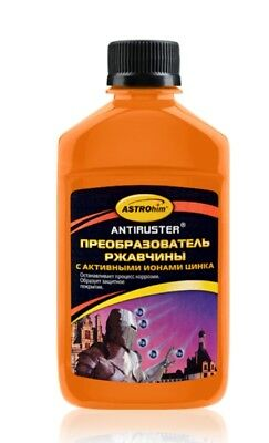 ASTROHIM Rust converter with active zinc ions, Antiruster series, 250 ml