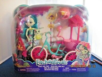 "Mattel **Enchantimals** Built For Two - New in package FCC65 4"" Doll 4+"
