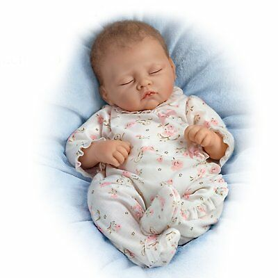Ashton Drake Sophia Breathes, Coos and has a Heartbeat baby doll by Linda Murray