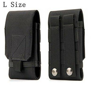 Tactical MOLLE Smartphone Holster, Universal Army Mobile Phone Belt Pouch EDC Se