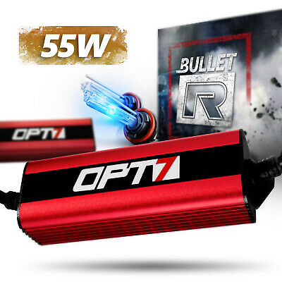 Bullet-R HID Conversion Kit All Xenon Light Bulbs Colors LED Alt low high beam