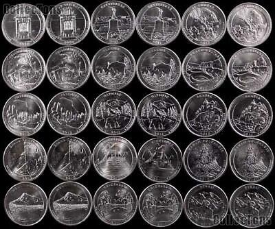 National Park Quarters 2010-2018 NEW & UNCIRCULATED - BUY 6+ @ £1.25 EACH