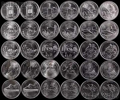 National Park Quarters 2010-2018 NEW & UNCIRCULATED - BUY 5 FOR £1.25 EACH