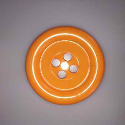 Orange Extra Large Clown Buttons Size 100 - 63mm