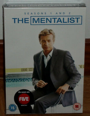 The Mentalist 1ª-2ª Seasons Complete New Sealed 11 Dvd (Unopened) R2