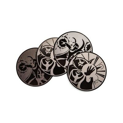 Loot Crate Marvel Gear & Goods Doctor Strange Metal Coasters Set Of 4 Exclusive