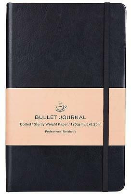 Bullet Journal - Dot Grid Hard Cover Notebook, Premium Thick Paper with Fine Inn