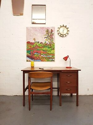 Teak Mid Century Vintage Retro Desk - Delivery- London SE15