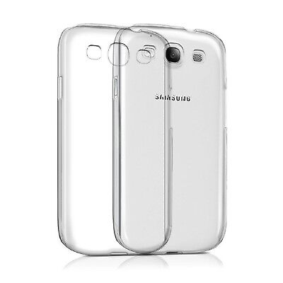 Custodia Silicone TPU Gel Trasparente per Samsung Galaxy S3 / S3 Mini Ultra Thin