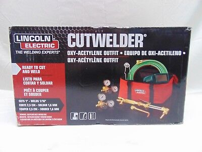 Lincoln Electric Oxygen Welding, Cutting And Brazing Kit Kh995