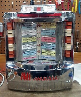 Ami Wallbox Jukebox Model Wq-200 - Restored - Stock #5364