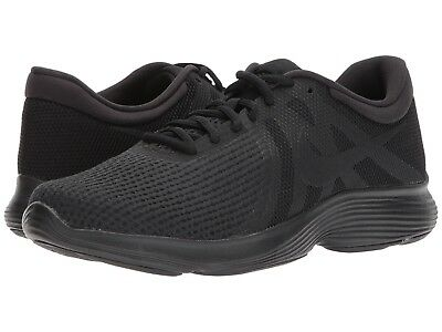 Nike Men's Revolution 4 Running Shoes 908988 002 Black/Black