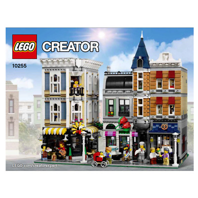 NEUF NEW Assembly Square 10255 LEGO Modular Buildings Notice Instruction