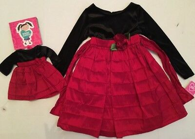 "Matching  Girl & Doll Dress Fits 18"" American Girl & Bitty Baby - 4/5"