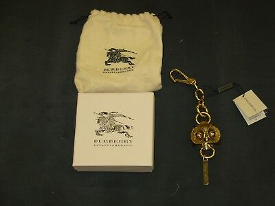 93958cedc3a4 AUTHENTIC BURBERRY BRASS Owl Large Bag Charm Key Chain -  279.99 ...