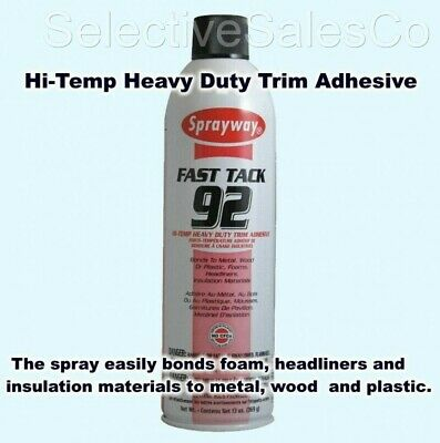 Hi Temp Spray Adhesive 20 oz. Can Headliner Glue Heavy Duty FAST TACK 92 Foam