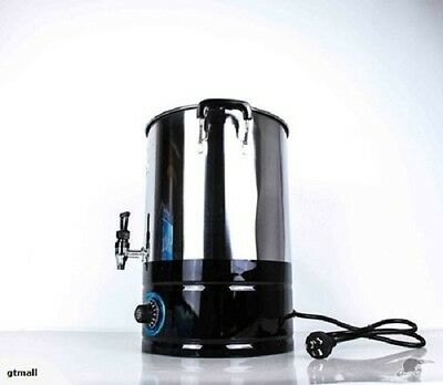 New Hot Water Urn S/steel Exposed Element 38L