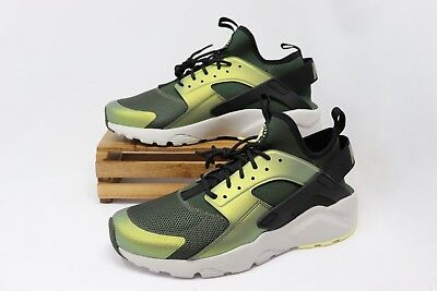 nike air huarache run ultra breeze olive herren