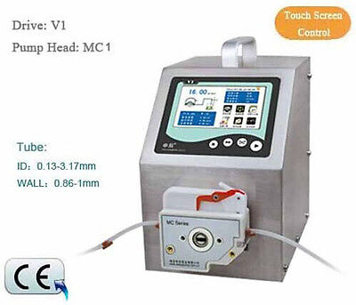 Flow Rates Peristaltic Pump Intelligent Type V1 0.000166-570 mL/min MC2-6R