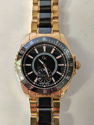 Guess Collection GC47003L Ladies Watch Rose Gold Stainless Steel Swiss Made 4b3ead3a02