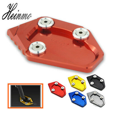 For YAMAHA YZF R25 R3 2014 2015 2016 2017 2018 Side Stand Extension Plate Pad