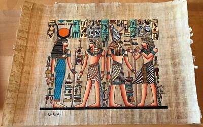 Hand Made Egyptian Papyrus   Size 8 X  12   Inch   60514