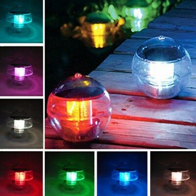 Solar Power LED Floating Light Waterproof Ball Pond Pool Lamp for Swimming Pool