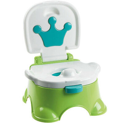 3 in 1 Green Baby Toddler Toilet Trainer Safety Green Music Potty Training Seat