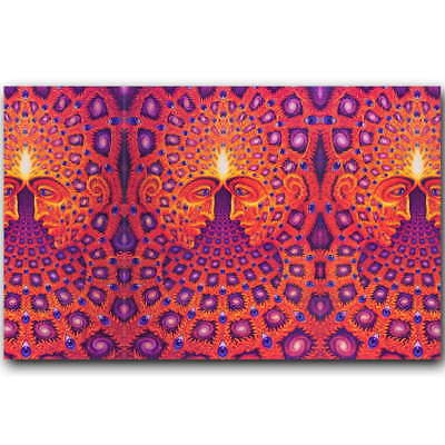 Alex Grey Oversoul Trippy Psychedelic Abstract Art Silk Poster 12x19'' 20x32''
